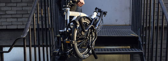 the Black Edition Brompton