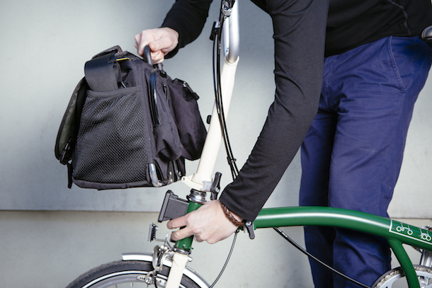 Brompton luggage system