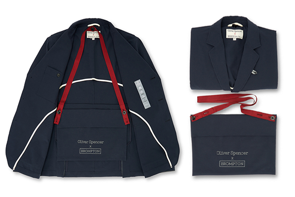 Brompton Blazer by Oliver Spencer