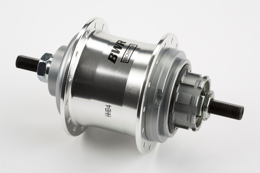 a Brompton hub gear