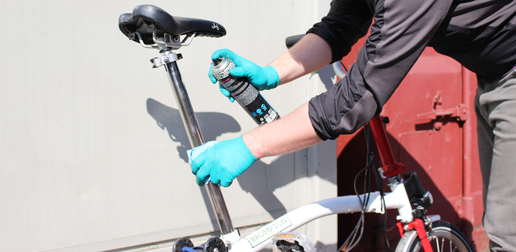 Cleaning a Brompton